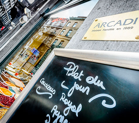 Arcadi Café in Brussel