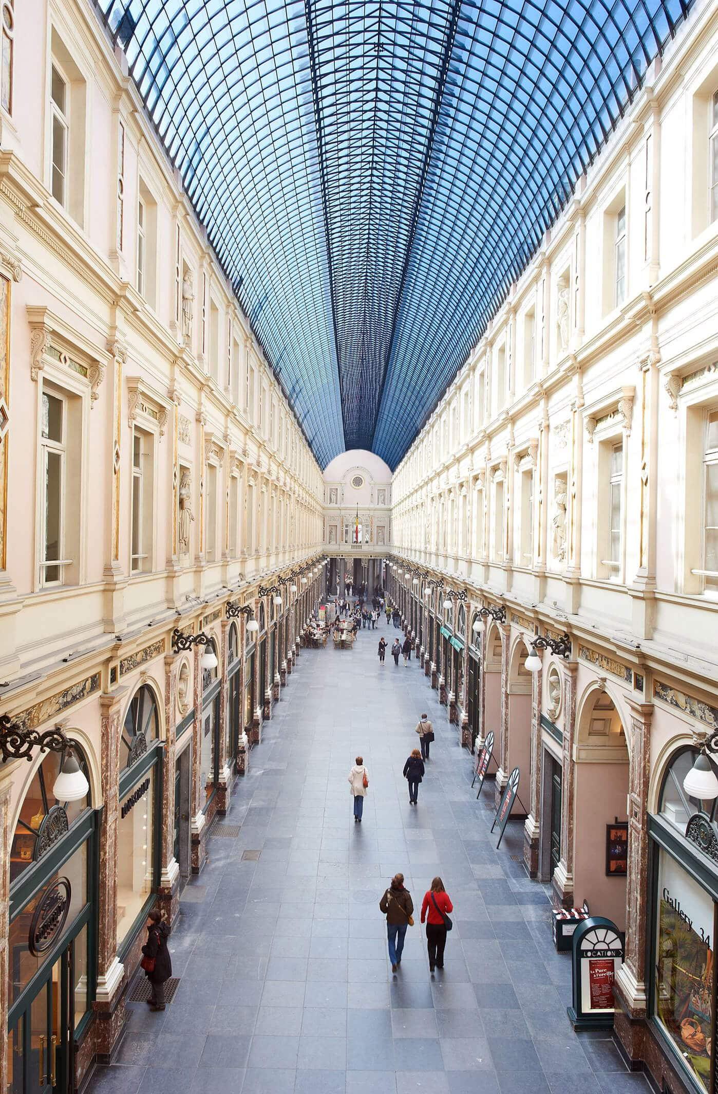 Les Galeries Royales Saint Hubert